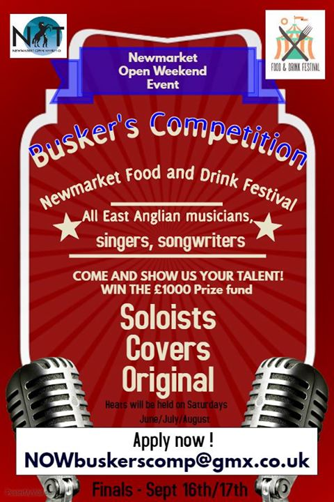 Newmarket Open Weekend - Buskers Competition